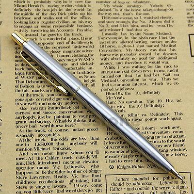 New Chic BAOER 37 stainless steel Push Ball Point Pen