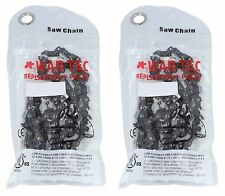Chainsaw Chain Pack Of 2 3/8 Pitch 050 or 1.3mm Gauge 40 Drive link DL GHS 3842