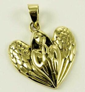 Humor Praying Angel Engel Anhänger Bronze Gothic Schmuck - Neu