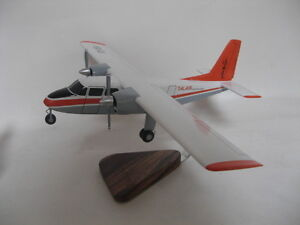 Details about Britten Norman Islander Talair Airways Airplane Desktop Wood  Model