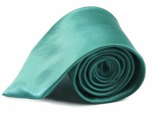 CHEAP-8CM-MENS-MINT-GREEN-TIE-Necktie-Neck-Tie-Ties-Wedding-Formal-Bargain