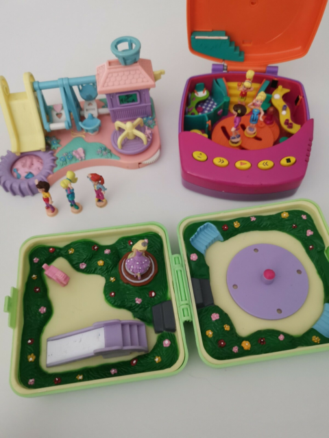Polly Pocket, Polly pocket vintage... legeplads, paradise…