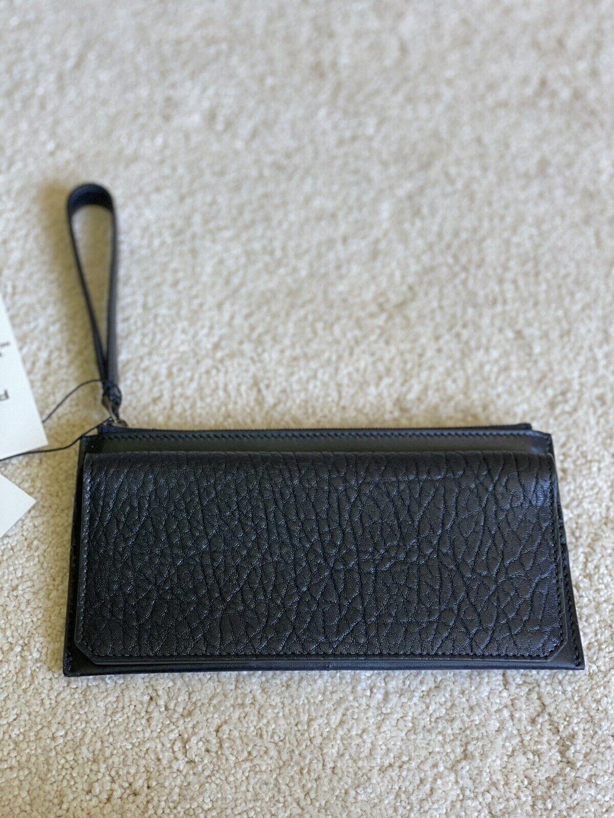 M. Gemi x 30 Studio Maggio Essa Zip Case black leather wallet