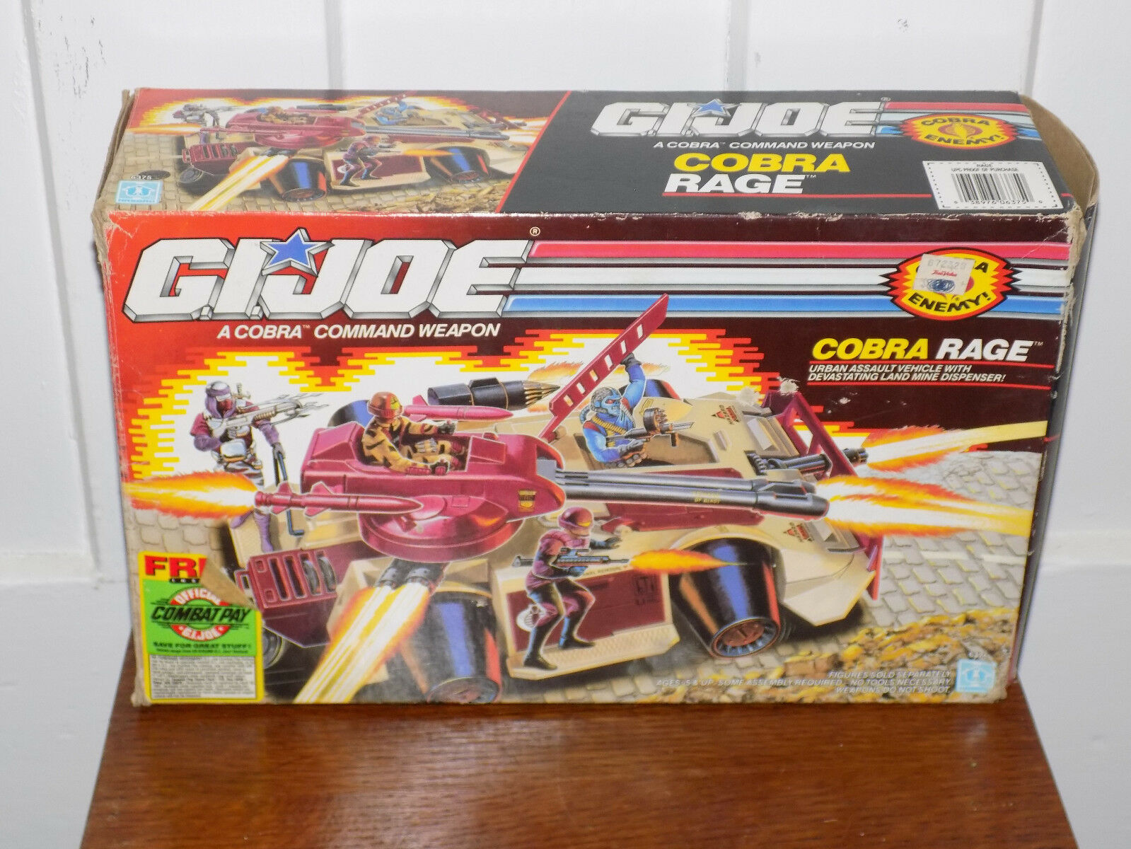GI Joe Cobra RAGE IN BOX 1989