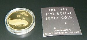 1992-Australia-5-Space-Proof-Coin