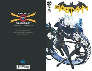 2018-BATMAN-50-MIKE-MAYHEW-COMIC-POP-EXCLUSIVE-VARIANT-COVER-Limited-to-1500