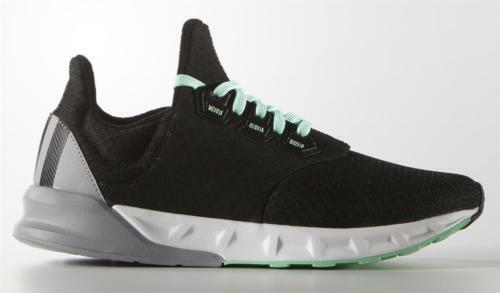 New in Box Adidas Falcon Elite 5 W [AF6426] Running Black/Grey-Green Size 8/8.5