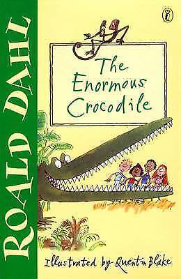 The Enormous Crocodile by Roald Dahl, Acceptable Book (Paperback) FREE & Fast De
