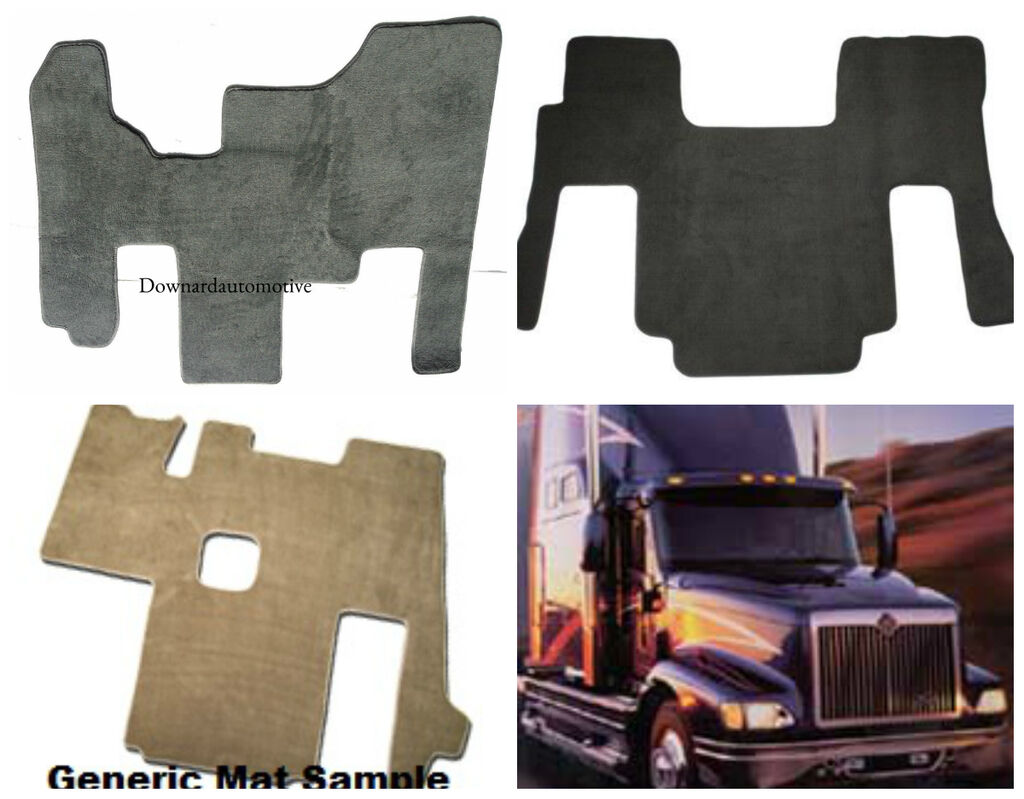 Kenworth T680 Custom Fit Carpet Cab Floor Mat 2013-2016 3
