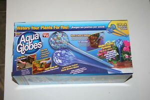 Aqua-Watering-Globes-Plant-Watering-Glass-Plant-Watering-Globe-2-Pack-Large-NEW