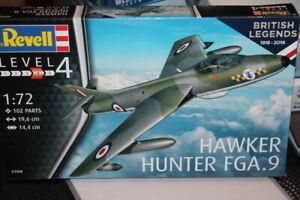 NEW-NEW-Revell-03908-Hawker-Hunter-FGA-9-au-1-72