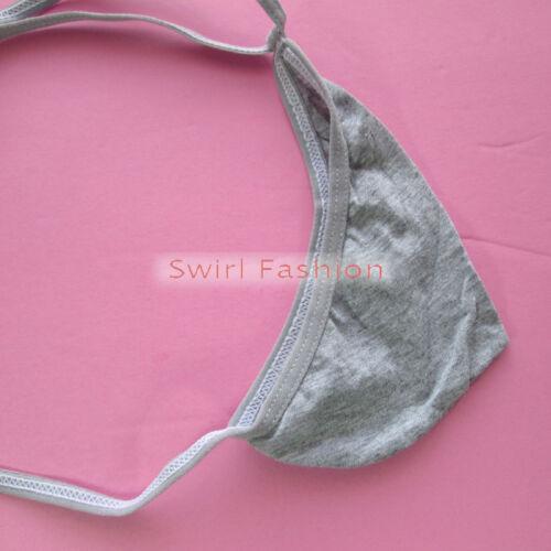 N3022A Hot Homme Teardrop String Poche Couleurs doux coton fin