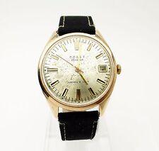 POLJOT ПОЛЕТ Solid 14K Gold Case Russian USSR Automatic Watch