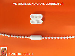 Roller-Vertical-blind-chain-connector-cord-joiner