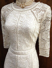 BNWT Elegant& Super Chic MONSOON *Elvie*floral crochet lace occasion dress sz 22