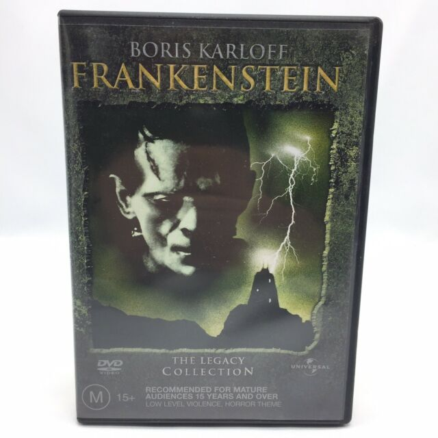 Frankenstein: The Legacy Collection (DVD, 2004) Regions 2&4 VGC