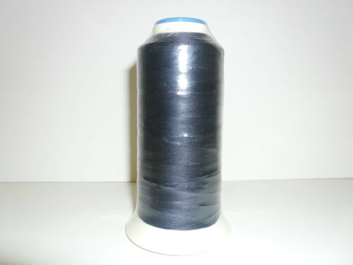 1000 MTRS X2 CONES ASSORTED COLS STRONG BONDED NYLON THREAD 60/'S UPHOLSTERY