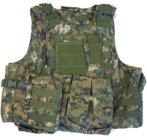 Veste Corset Tactique Body Armor Digital Marpat