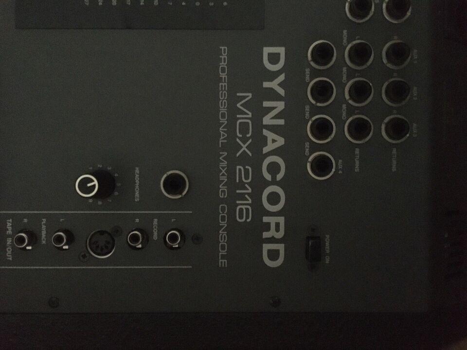Mixer, Dynacord Mcx. 2116