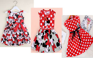 Kids-Summer-Girls-Dress-Princess-Baby-Mickey-Minnie-Mouse-Dress-for-1-6-Years