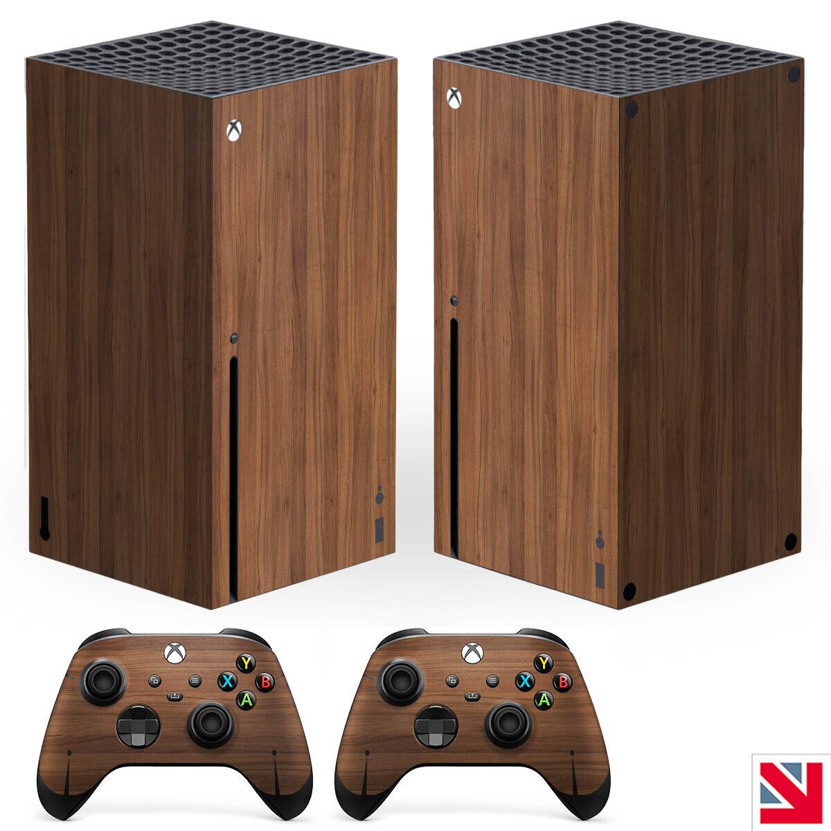 Wood Effect Wooden Style XBOX SERIES X Skin Decal Vinyl Sticker Wrap