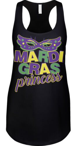 Mardi Gras Princess New Orleans Nola Bouron Street Party Costume Womens Tank