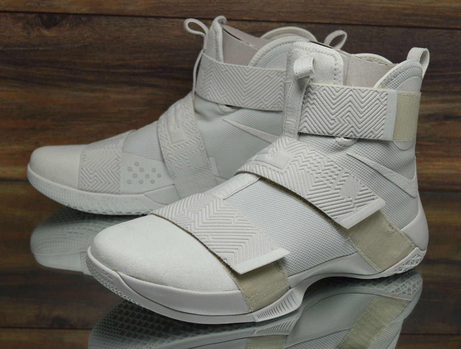 Nike lebron lebron Nike soldato 10 sfg lux uomini 14 (luce ossa) 911306-001 b18bc9