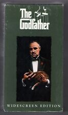 GODFATHER new vhs 2 TAPE SET - MARLON BRANDO AL PACINO JAMES CAAN ROBERT DUVALL