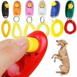 DOG-CLICKER-PET-TRAINING-CLICKER-TRAINER-TEACHING-TOOL-FOR-DOGS-PUPPY-NEW