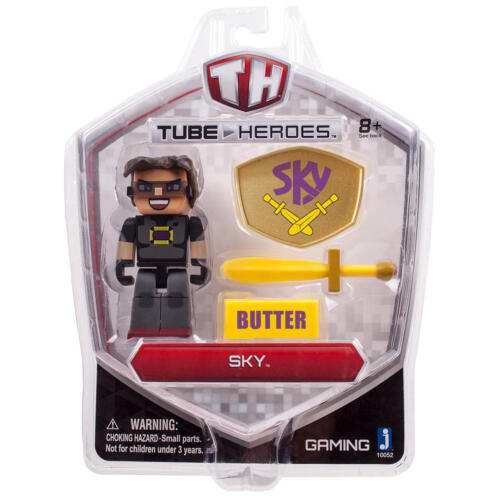 Sky NEW Tube Heroes 2.75 inch Action Figure with Accessories