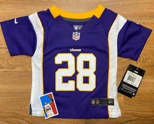 Details about Adrian Peterson Minnesota Vikings Toddler Infant Jersey size 18m Nike NWT NFL AP