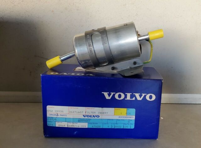 Volvo 31271607 Genuine OEM Factory Original Fuel Filter for sale online    eBay   Volvo S40 Fuel Filter      eBay