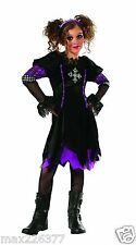 NEW Rubies Punk Spunk DARK HALOWEEN Costume GIRL DRESS Large 12-14 TWEEN