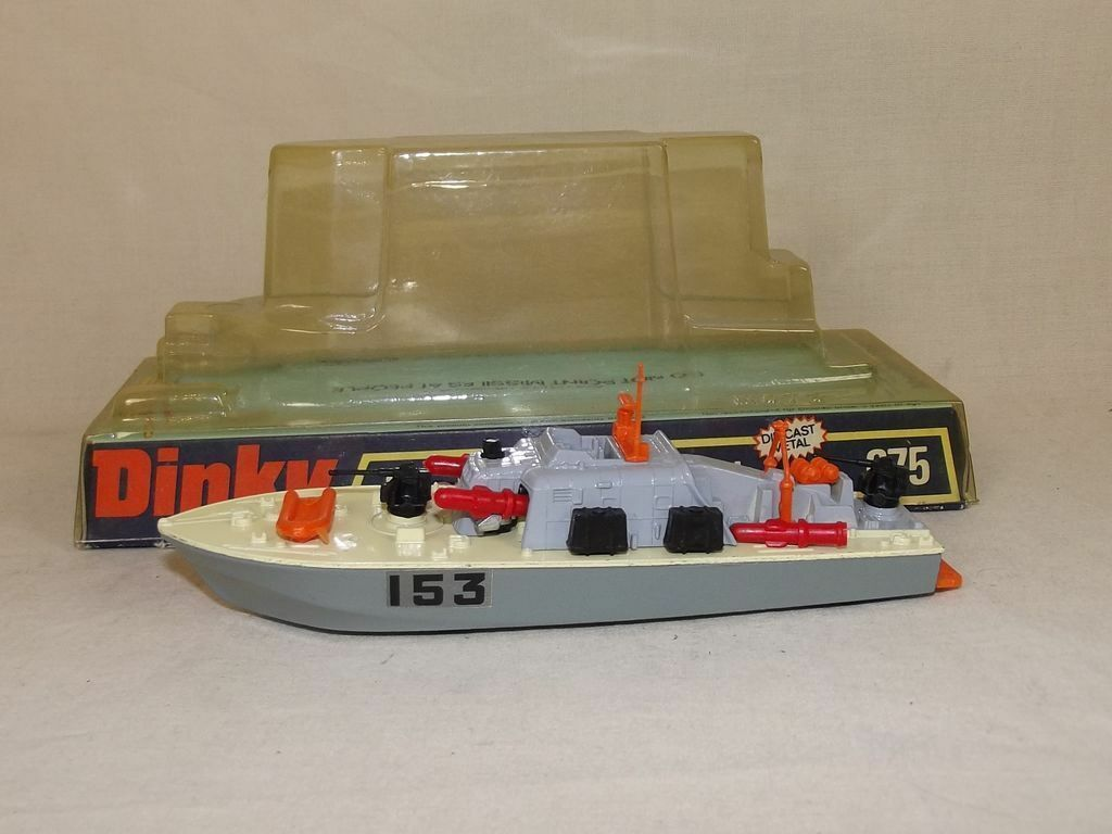 Dinky toys n ° 675  motor patrol boat avec quatre missiles, boxed   2  économisez 60% de réduction et expédition rapide dans le monde entier