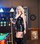 BLACK-Lace-Up-Gothic-PVC-Leather-Mini-Dress-amp-Thong-Clubwear-Skirt-8-10-12-14-16 thumbnail 3