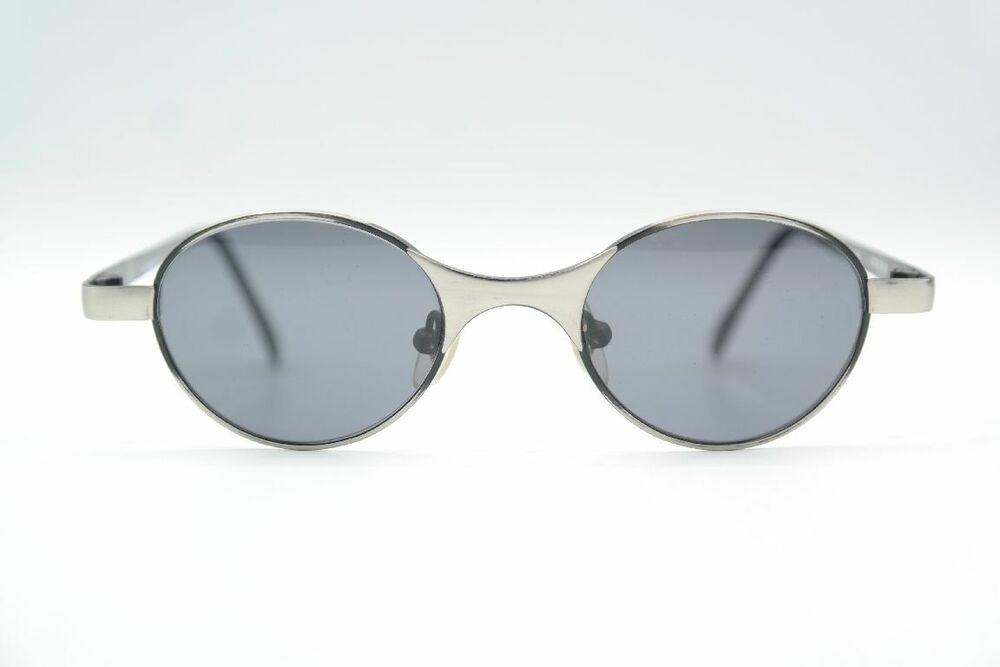 Acheter Pas Cher Vintage Hatzmann Dao 840 Argent Ovale Lunettes De Soleil Sunglasses Lunettes Nos Confortable Et Facile à Porter