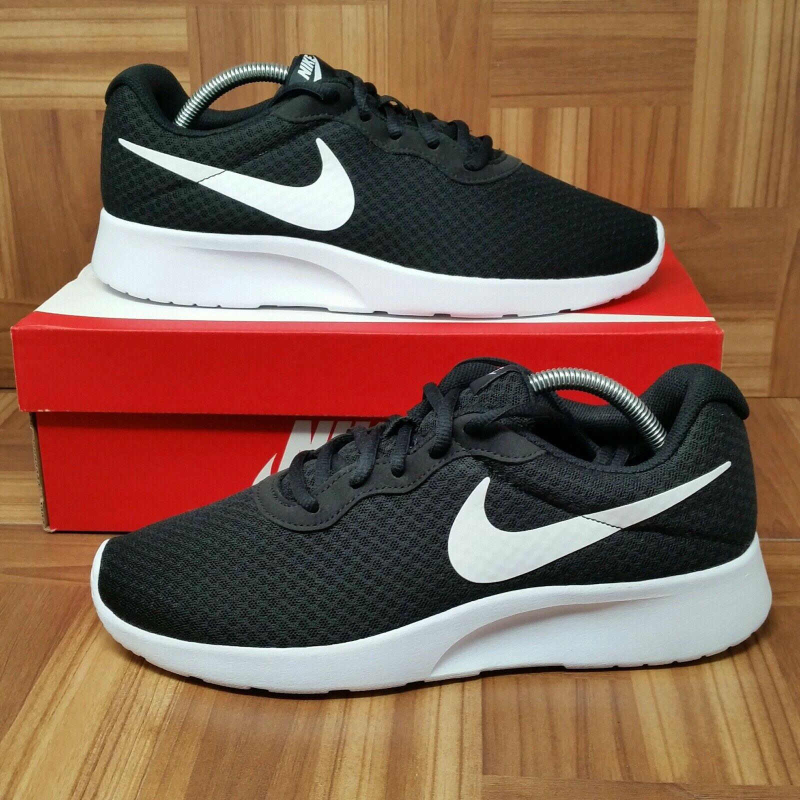 NEW Nike Air Tanjun (Men's Size 9) Running Sneaker shoes Black White Max