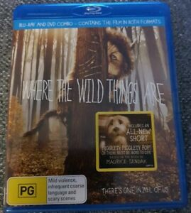 WHERE THE WILD THINGS ARE BLU RAY & DVD 9398711027081 | eBay