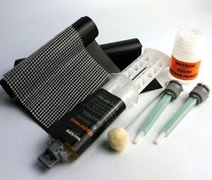 Plastic Bumper Repair Kit >> Broken Cracked Plastic Car Bumper Trim Full Repair Kit Ebay