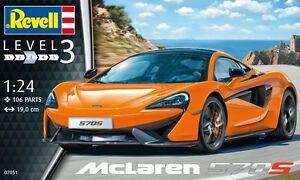 RV07051 - Revell 1:24 - McLaren 570S