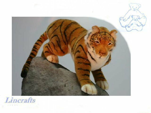 Hansa Prowling Tiger 4060 Plush Soft Toy Sold by Lincrafts Established 1993