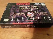 Ultimate Mortal Kombat 3 (Super Nintendo SNES Game) With Box