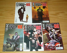 Untold Tales of the Punisher MAX #1-5 VF/NM complete series marvel comics 2 3 4