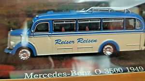 Mercedes-Benz-O-3500-1949-Omnibus-Scala-1-72-Die-Cast-Atlas-Bus-Collection