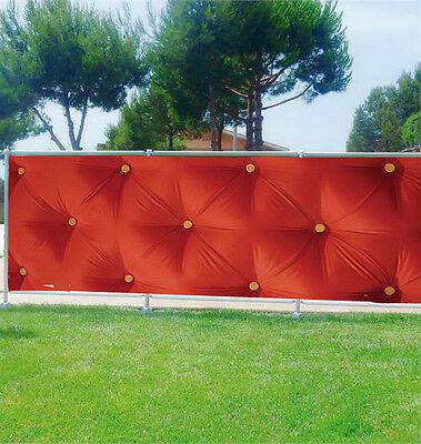 -schutz Sicht- Deko Druck: Polsterbett Rot 3621 Top Wassermelonen