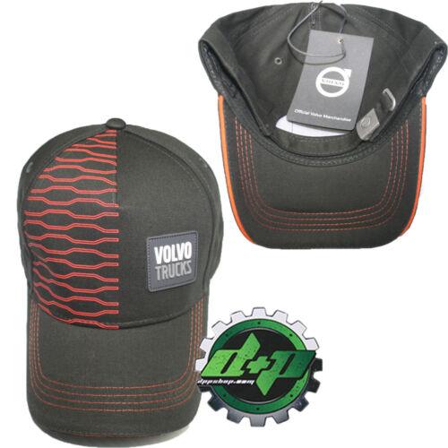 Volvo Trucks 18 wheeler brown hat ball adjustable cap design patch trucker gear