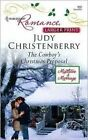 The Cowboy's Christmas Proposal by Judy Christenberry (Paperback, 2008)