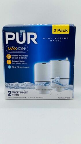 2-Pack PUR Faucet Mount Replacement Filter Refills MAXION  RF-3375