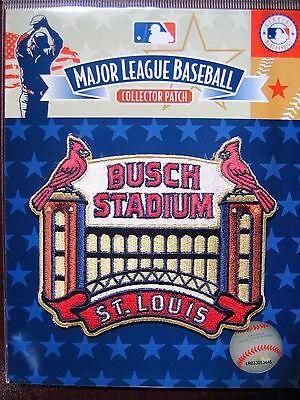 Hingebungsvoll Mlb Offizielles St Louis Cardinals Busch Stadion Abzeichen Ein GefüHl Der Leichtigkeit Und Energie Erzeugen Fanartikel
