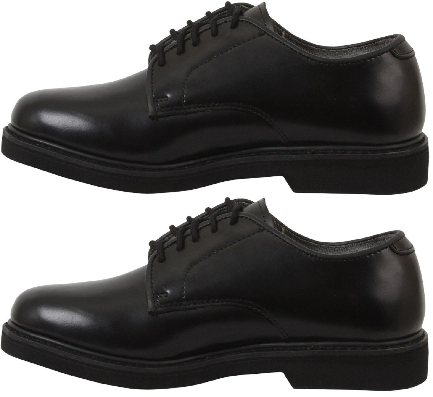 Uniform Soft Sole Oxford Dress Shoe For military & Band & Law Enforcement 5085